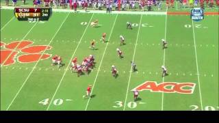 Joe Thomas vs Clemson (2013)