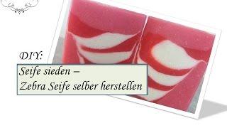 Seife Sieden | Zebra Seife Selber Machen | Mit Gewinnspiel!