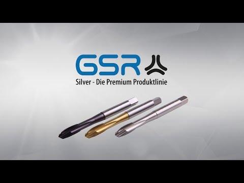 Die Premium Maschinengewindebohrer von Gustav Stursberg - GSR Silver