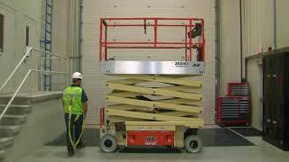 JLG Scissor Lift Operator Safety Function Check