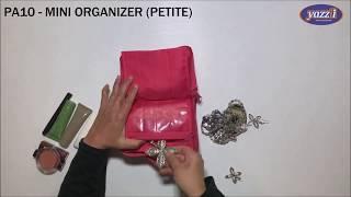 PA10 Mini Organizer (Petite)   Yazzii Travel Bag