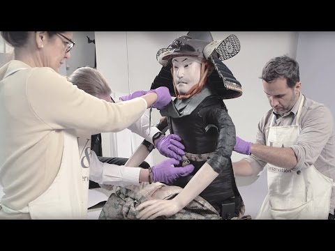 Watch 130-Year-Old Samurai Armour GetRestored To A Pristine AndFearsome State