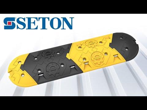 Rallentatore di velocità Seton in azione