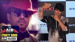 Akshay Kumar React On Irrfan Khan  Every Bollywood Party Song  AIB
