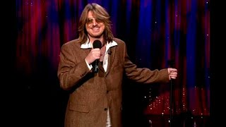 Mitch Hedberg: Waffles Are Like Pancakes With Syrup Traps   Late Night With Conan O'Brien