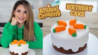 ANIMAL CROSSING BIRTHDAY CAKE! (New Horizons) - Nerdy Nummies