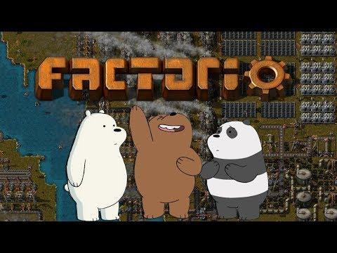 Factorio - ⚫ Mazalové ⚫