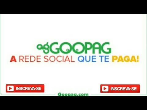 Goopag a Rede Social que Te Paga no Paypal