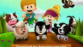 """Feeding Time Farm Animals """"Hompimpa Studio Educational Games"""" Android Apps Game Video"""