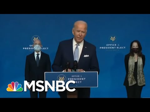 President-Elect Biden Announces His Cabinet Picks | Morning Joe | MSNBC