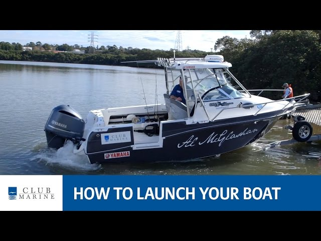 How to launch your boat with Alistair McGlashan | Club Marine