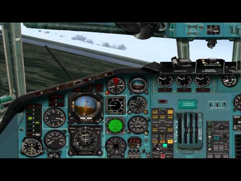 Project Tupolev Tu-154M Tutorial Start Circuit (pattern) And Landing FS2004 Mp3