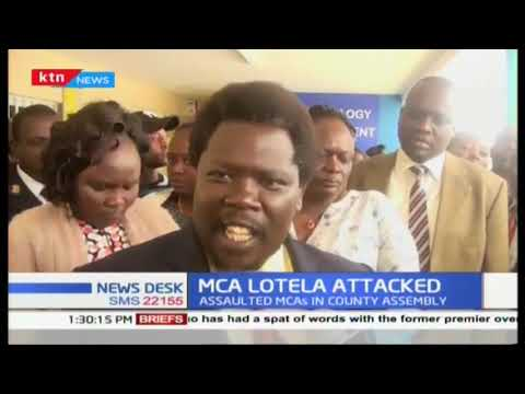 Baringo MCA assaulted