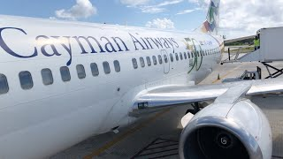 NEW YORK JFK TO GRAND CAYMAN ISLAND | CAYMAN AIRWAYS | B737 | TRIP REPORT