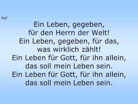 """Videoclip LIED 3 """"Ein Leben, gegeben…"""""""