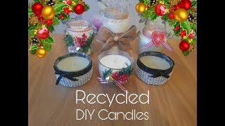 Recycled Jars Made Into Beautiful Hand Decorated Gifts - Gift Idea