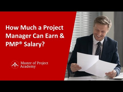 How Much a Project Manager or PMP Can Earn? - YouTube