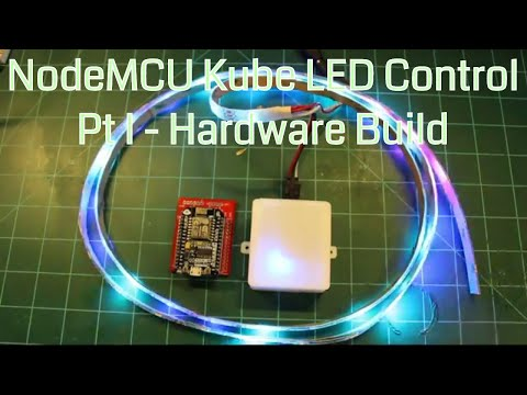The Kube - ESP8266 NodeMCU WS2812 MQTT LED Controller by