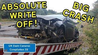 UK Dash Cameras - Compilation 23 - 2019 Bad Drivers, Crashes + Close Calls
