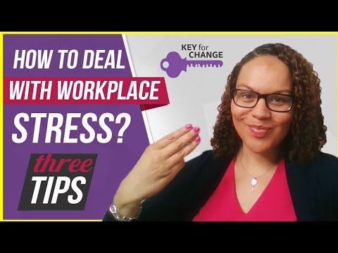 How to deal with stress in the workplace