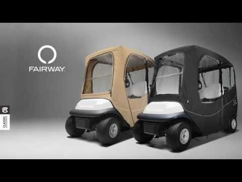 Fairway Deluxe Golf Cart Enclosure by Classic Accessories