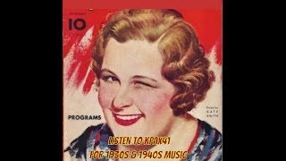 It's High Time We Got Some 1930s & 1940s Big Band Music  @KPAX41
