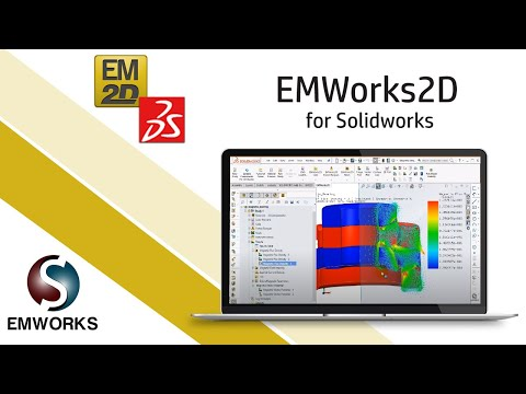 2D-FEM simulation of Magnetic Bearing system using EMWorks2D