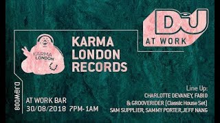 Fabio & Grooverider - Live @ DJ Mag x Work x Karma London Records 2018