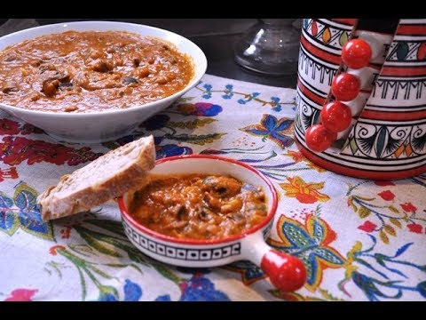 Zaalouk: ensalada marroquí de berenjenas con Thermomix ®