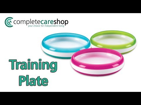 Video Demonstration Of The OXO Tot Training Plate