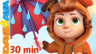 ☔️ Rain Rain Go Away and More Nursery Rhymes by Dave and Ava ☔️