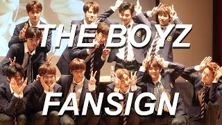THE BOYZ FANSIGN EXPERIENCE