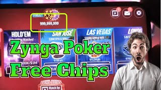 Zynga Poker free chips 2021 💥 How To Get Unlimited Chip on Zynga Poker