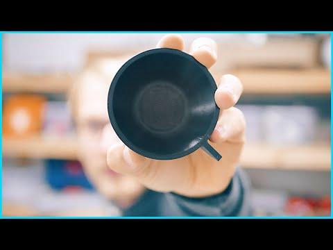 Custom crystallized PLA Espresso cup! #HTPLA #Fusion360