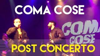 Coma Cose   Post Concerto (LIVE Nuovo Singolo)  Mi Ami Ora 2018
