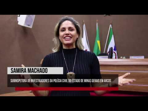 PJ Arcos - Recado de Samira Machado (Oficina 06 - 10/04/2018) - Câmara de Arcos