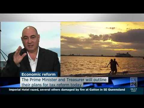 ABC TV - News Breakfast Interview - GST