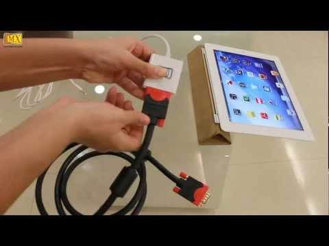 How to Connect The new iPad to the TV using VGA