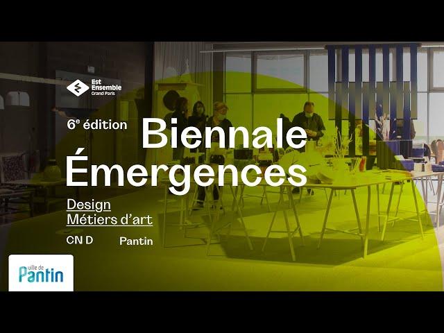Biennale Émergences, Pantin, 2020.