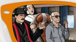 """Archer Season 4 Episode 11 """"The Papal Chase"""" - My thoughts"""