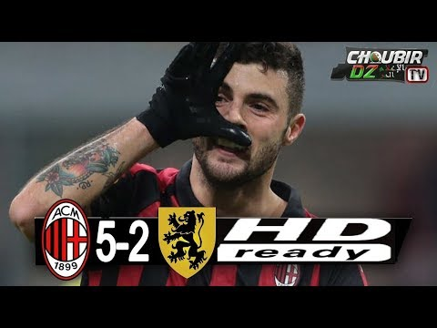 Milan Vs Dudelange 5-2 UEFA Europa League 29/11/2018