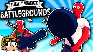 TOTALLY ACCURATE BATTLEGROUNDS! | TABS Battle Royale Gameplay (TABG)