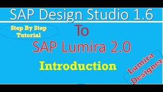 SAP Lumira 2.0 (Lumira Designer) Tutorial : Introduction