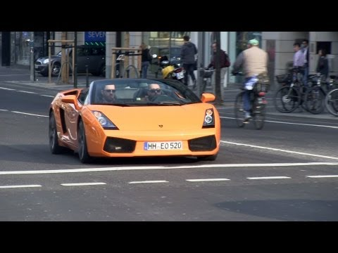 2x Lamborghini Gallardo Spyder