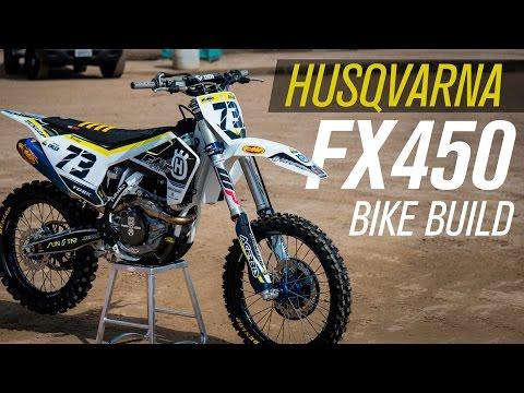 FMF 2017 Husqvarna FX450 Bike Build | RMATVMC