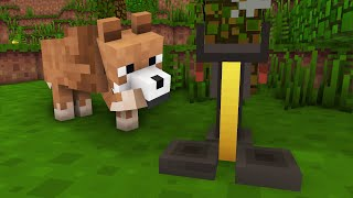 Wolf Life 11: Brewing Little Baby Wolves - Minecraft Animation