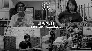 "Video thumbnail of ""GIGI - Janji ( Live #DiRumahAja )"""