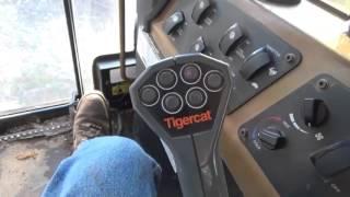 Tigercat L830C controls