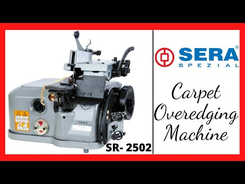 Carpet Over-Edging Machine