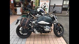 2017 BMW R Nine T 愛媛県 2017 ビー・エム・ダブリューアール・ナインティ ー 2017 BMW R9T 親子ライダーツーリング 美女モデル